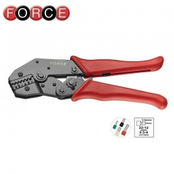 Crimp pliers for insulated cord end, FORCE - 1