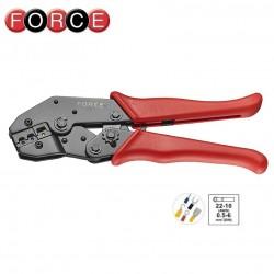 Клещи кербовъчни червено, синьо, жълто, Force - 1