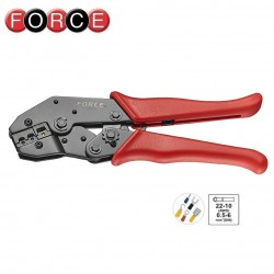 Crimp pliers for insulated terminals, Force - 1
