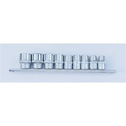 "9pc 3/8"" Socket set FORCE"