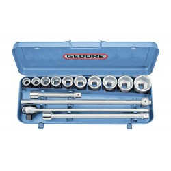"Socket set 3/4""DR. 14pcs hex 22-50mm GEDORE"