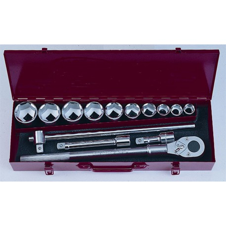 "Socket set 3/4"" 14pc FORCE"