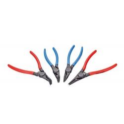 Set of circlip pliers