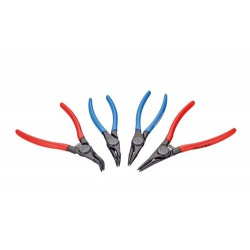 Set of circlip pliers