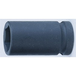"1""DR. 6pt. Flank impact deep socket 33mm."