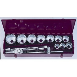 "Socket set 1"" 14pc FORCE"