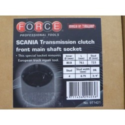 SCANIA Transmission clutch front main shaft socket - 5