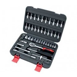 "46pc Socket set 1/4"" BOLTER"