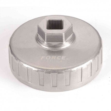Oil filter wrench 74 mm/14 Pt.