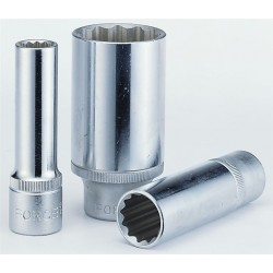 "1/2""DR. 12pt. Flank deep socket 28mm"