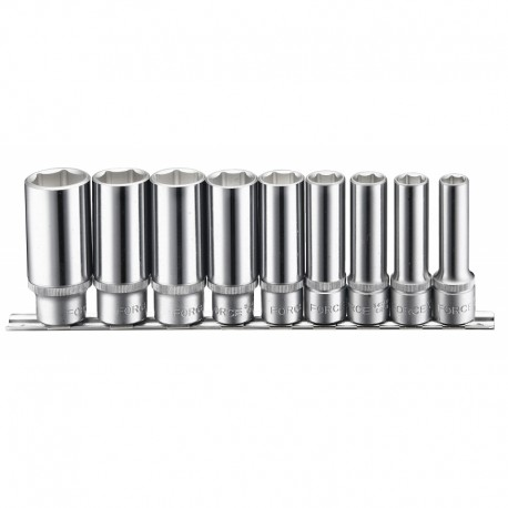 "9pc 1/2"" Deep socket set"