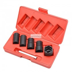 Twist impact socket set