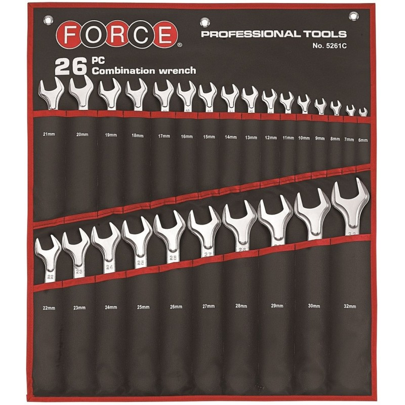 26pc Combination wrench set - 1