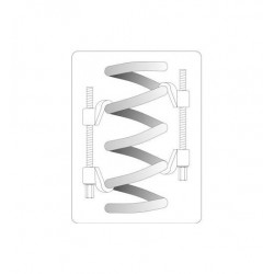 Coil spring compressor 270mm - 2
