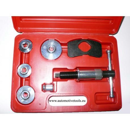 Brake caliper piston tools