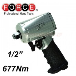 "1/2""Dr.Super duty mini impact Wrench, 677Nm - 1"