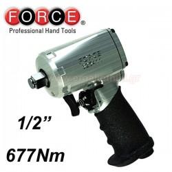 Pistol pneumatic de impact mini 1/2, 677Nm - 1