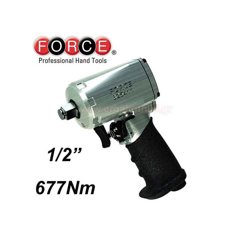 Pistol pneumatic de impact mini 1/2, 677Nm - 1